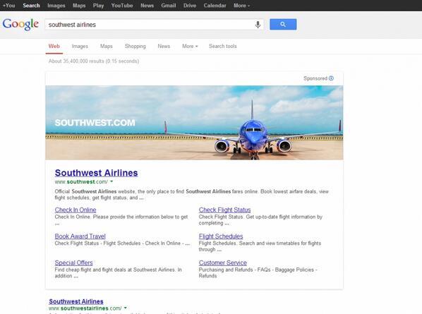 Google-เริ่มทดสอบใช้แบนเนอร์โฆษณาแบบใหม่ใหญ่กว่าเดิม