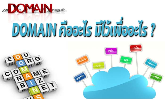 Domain-คืออะไร-มีไว้เพื่ออะไร
