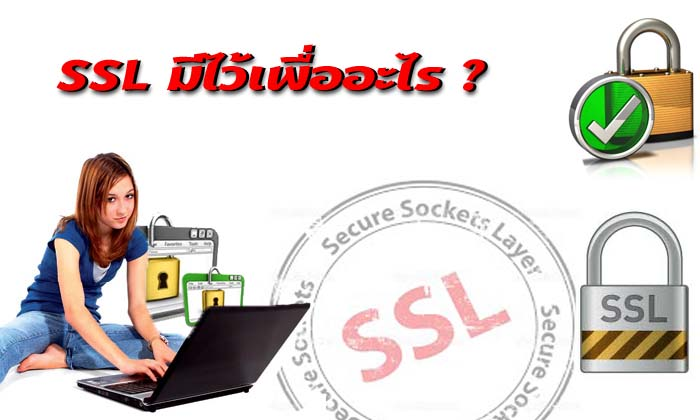 SSL-มีไว้เพื่ออะไร