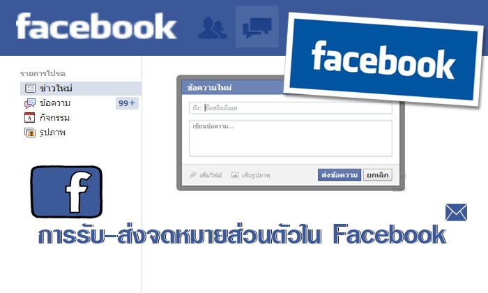 วิธีส่ง-รับ-จดหมายส่วนตัวใน-Facebook