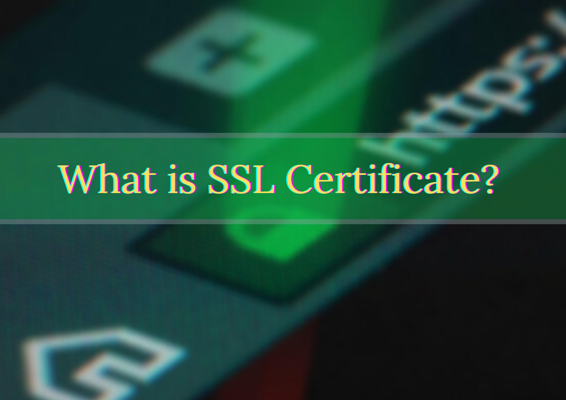 SSL-Certificate-คืออะไร